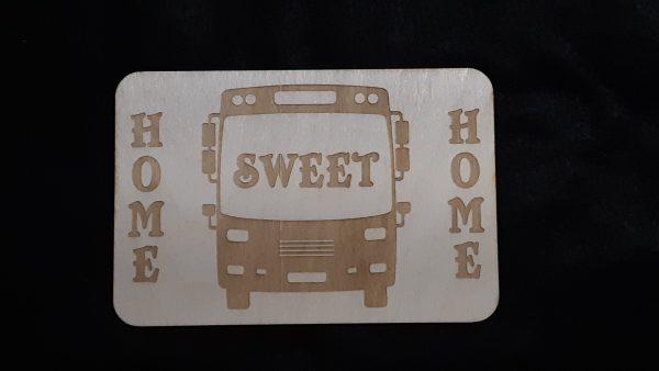 "Nomad Life ""Home Sweet Home"" Plaque - Skoolie"